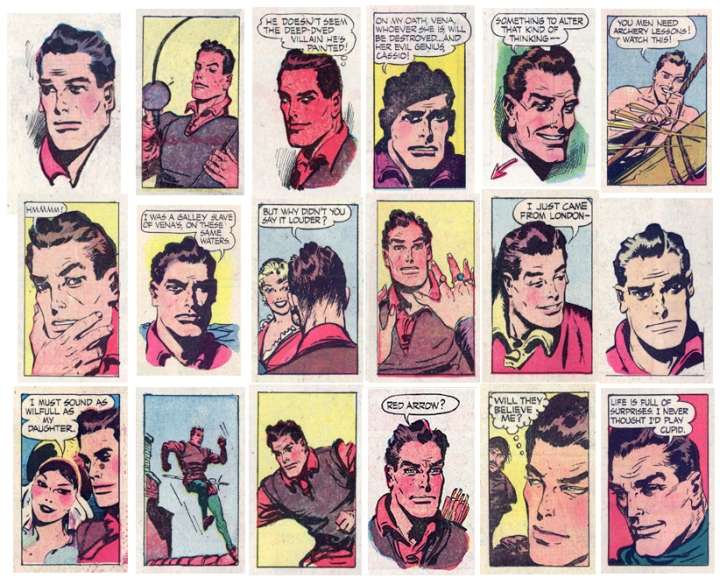 Throway panels 1950s 72 nice illo