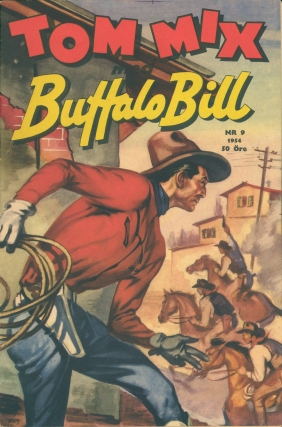 KTC Tom Mix Comicbook cvr
